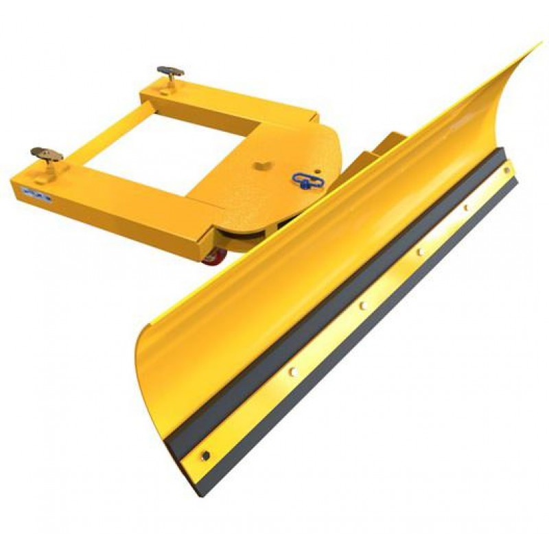 Used Forklift Snow Blades : Adjustable forklift snow plough ploughs