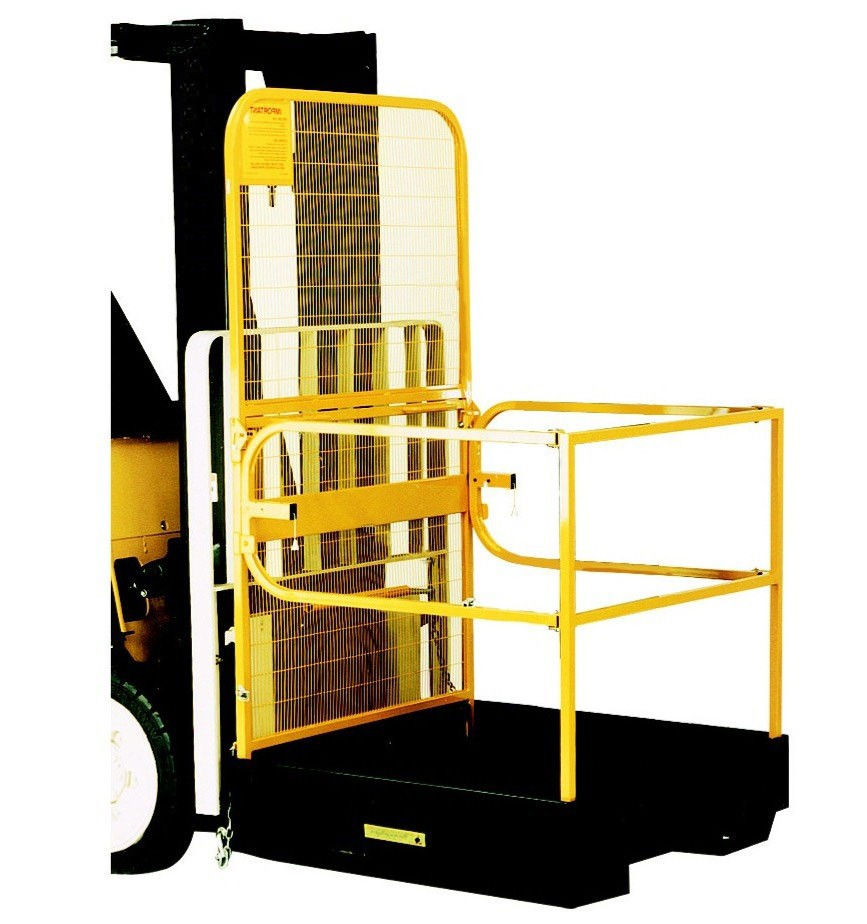 Forklift Safety Cage - Folded Design