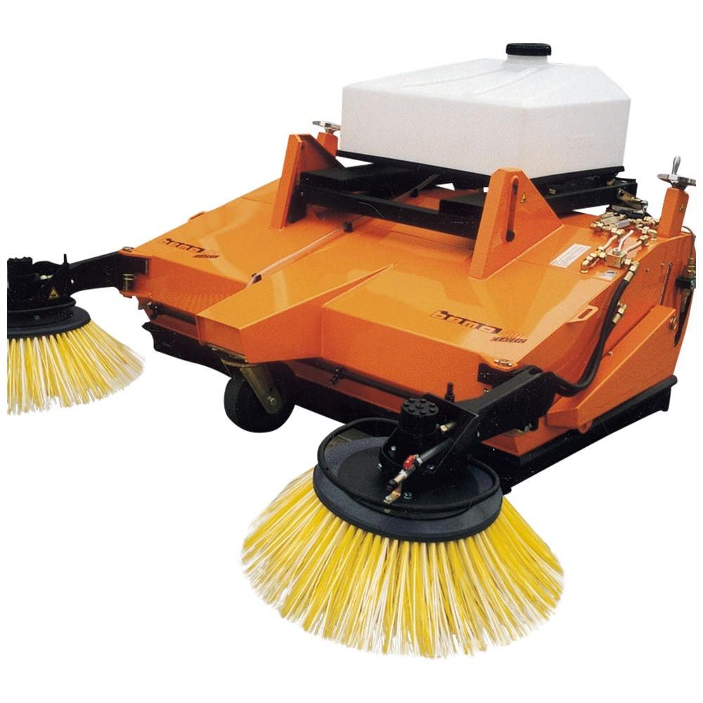 Rotary Broom Sweeper : Bema forklift sweeper hydraulic rotary