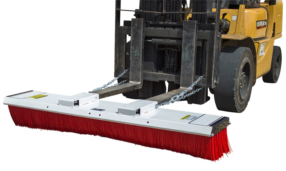 Forklift Brush Sweepers