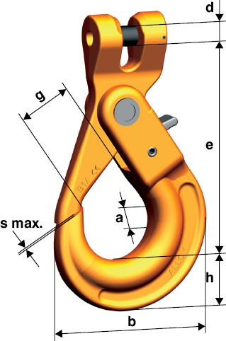 Clevis Safety Hook
