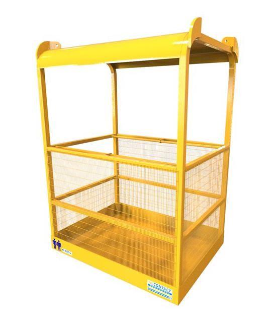 Crane Slung Safety Cage