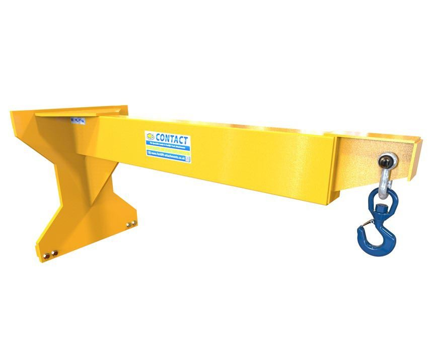 Forklift Jib - Carriage Mounted