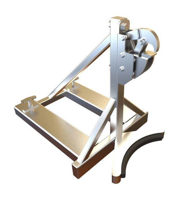 Forklift Drum Handler - Stainless Steel