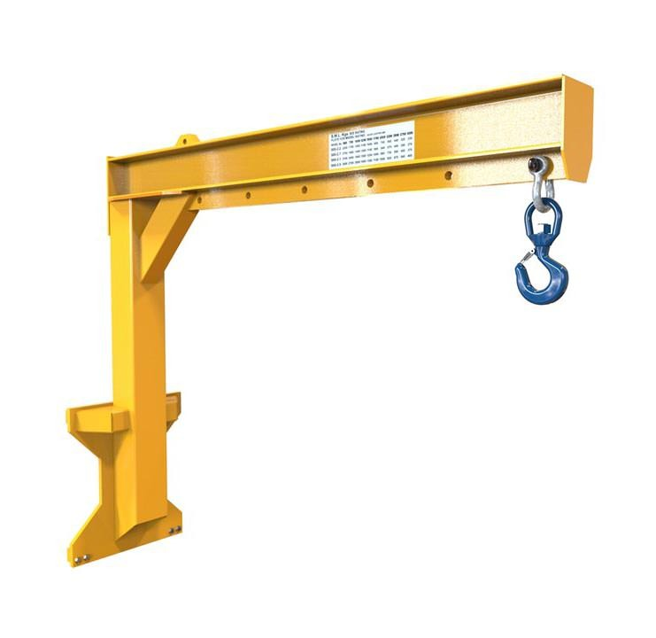 Forklift Jib Attachment - Carriage Mounted