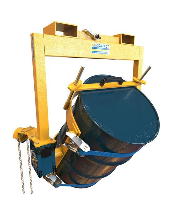 Forklift / Crane Slung Drum Tipper