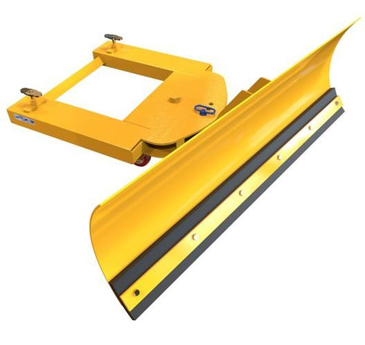 Forklift Snow Plough - Adjustable Blade