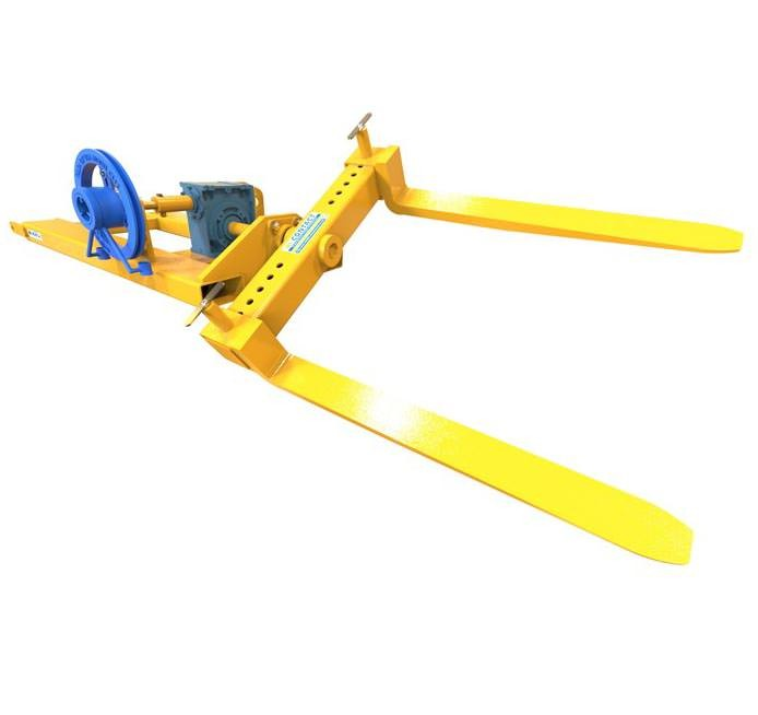 Forklift Pallet Rotator