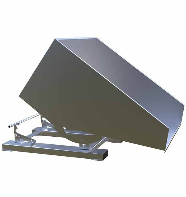 Stainless Steel Tipping Skip