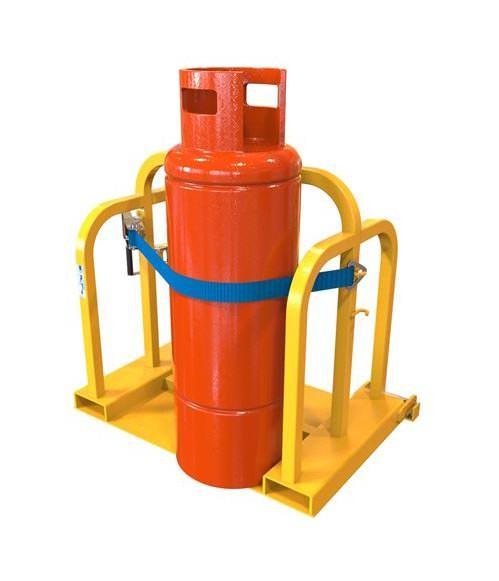 Forklift Gas Bottle Handler