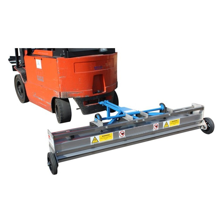 Forklift Towable Magnetic Sweeper