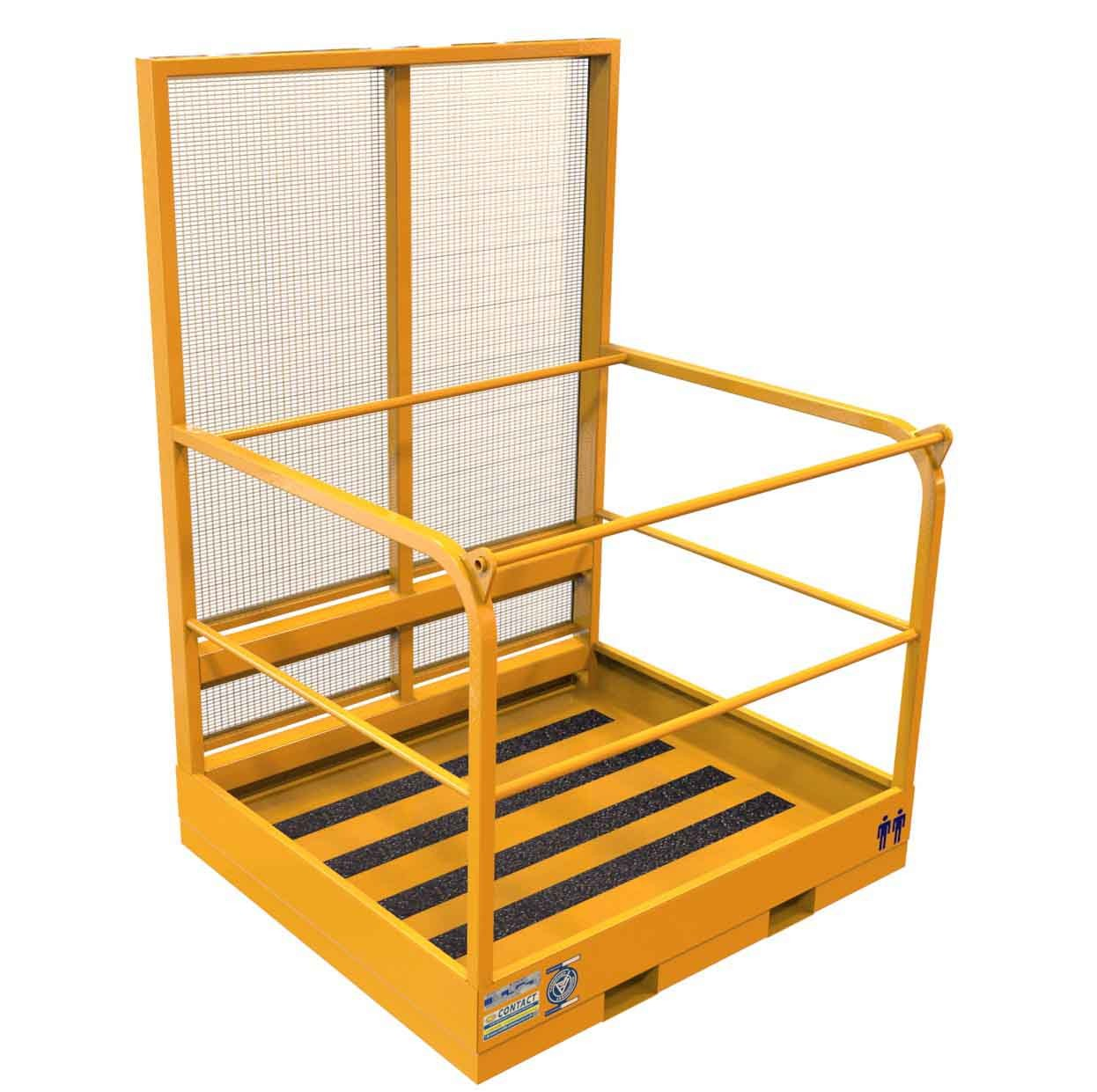 Tele-Handler safety cage