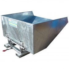 Tipping Bins - Galvanised - Heavy Duty