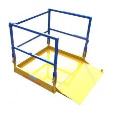 Foldable goods carrying platform