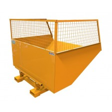 Tipping Skip - Mesh Sided