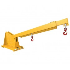 Forklift Articulating Extending Jib Attachment