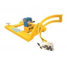 Sideways Forklift Drum Rotator