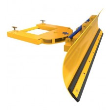 Forklift Snow Plough - Sprung Loaded Blade