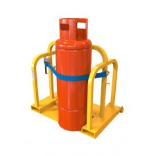 Forklift Gas Bottle Handler