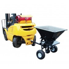 Forklift Towable Salt Spreader