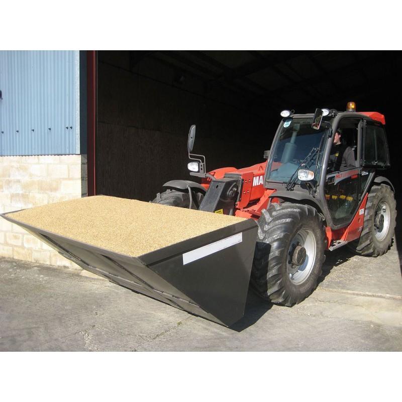 High Capacity Grain Buckets Tractor Bucket Attachments