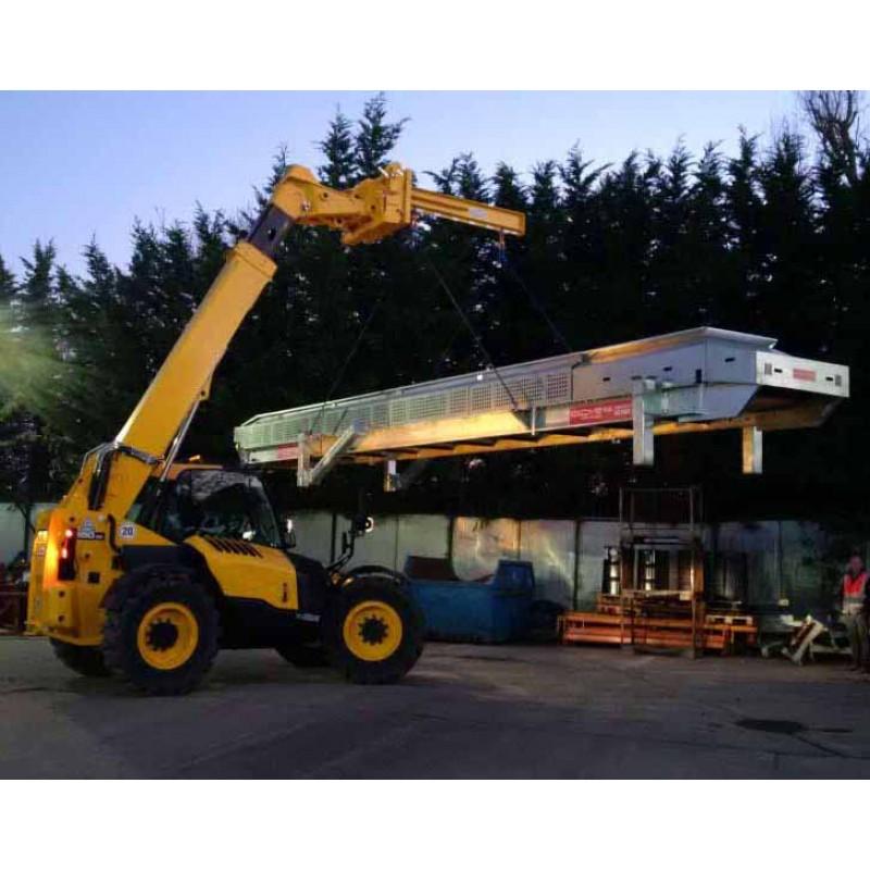 Forklift Lifting Attachments : Telehandler attachments telehandlers lifing jibs