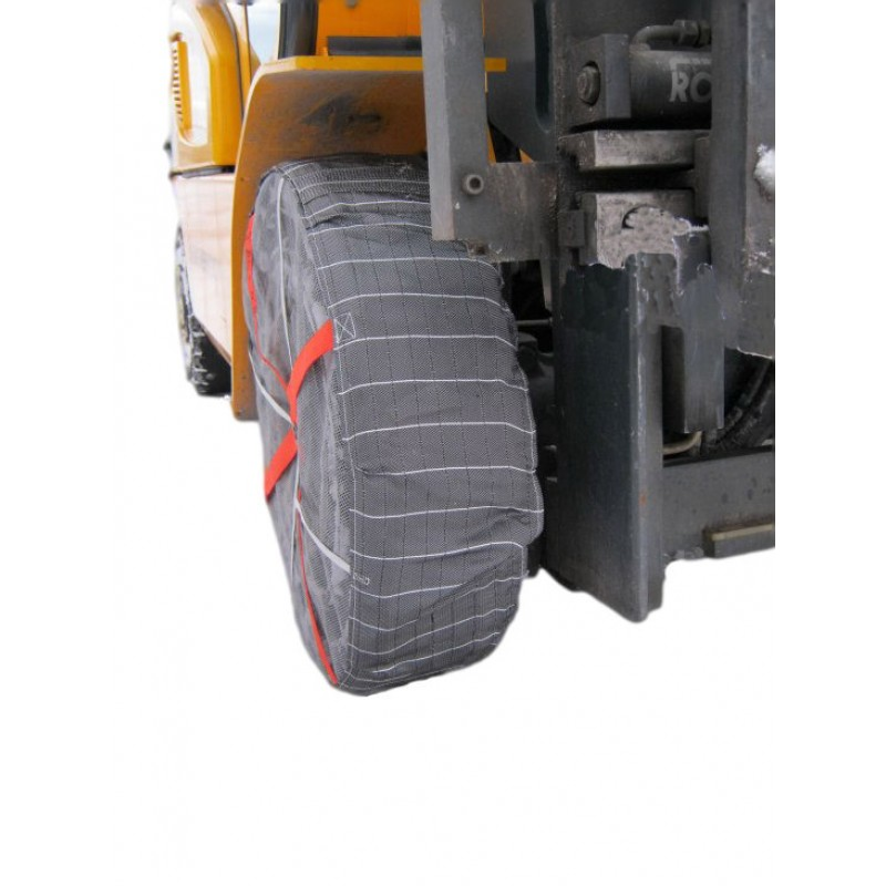 Forklift Snow Socks | AutoSock | Forklift Attachment Specialists