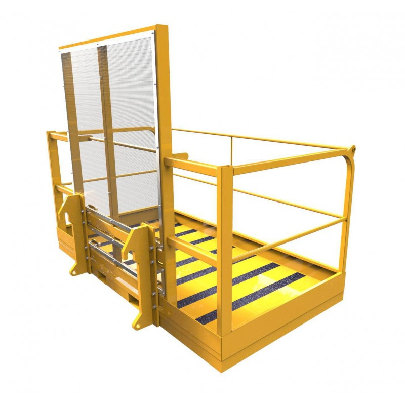 Forklift Amp Telehandler Safety Cage Forklift Attachments