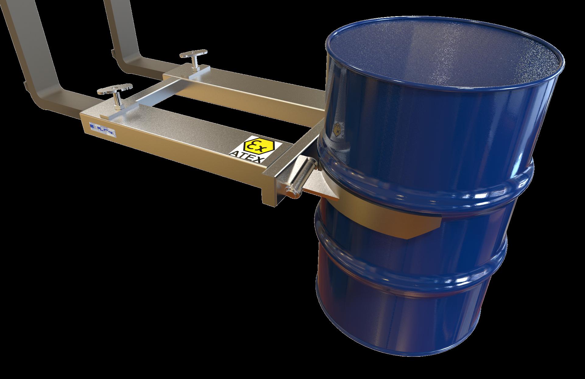 Stainless Steel Drum Handler