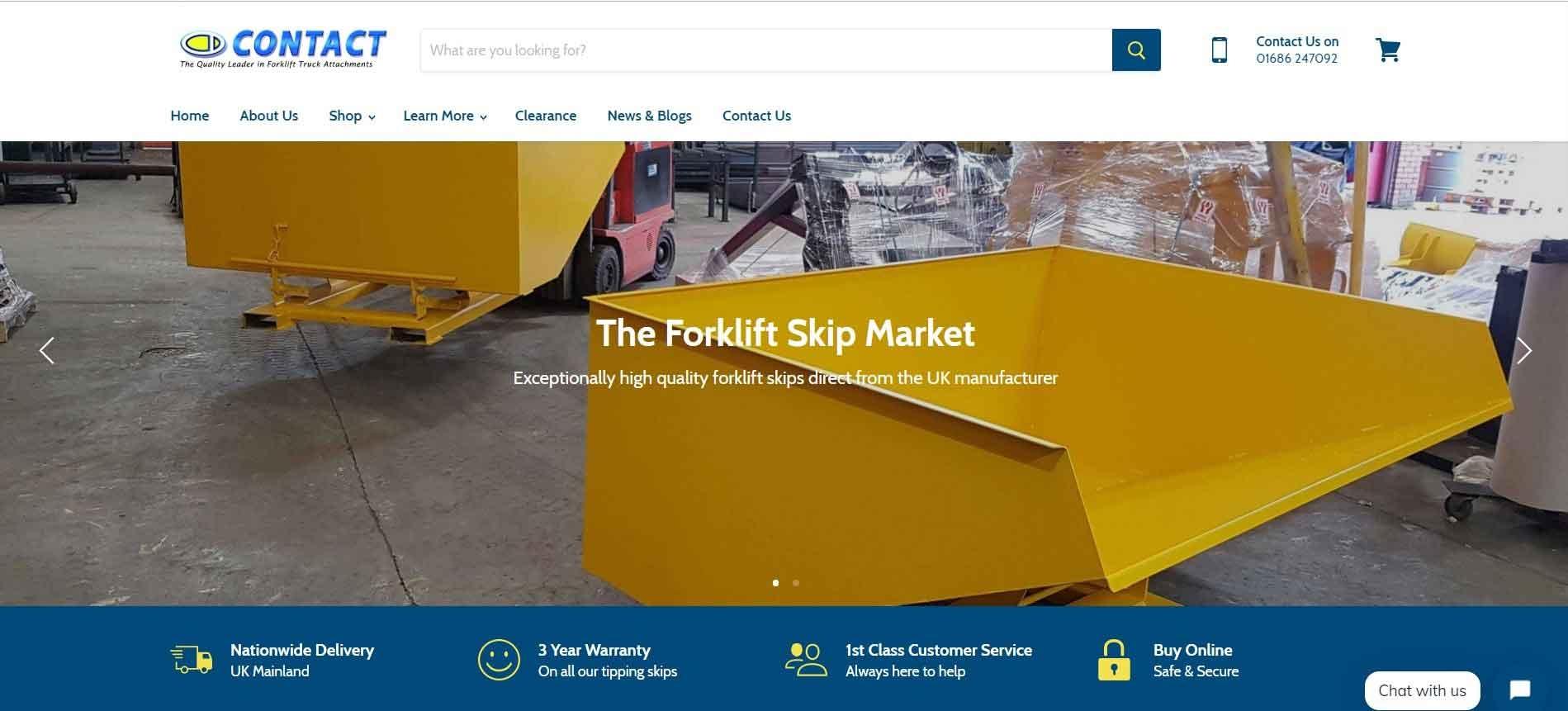 Forklift Skip Market