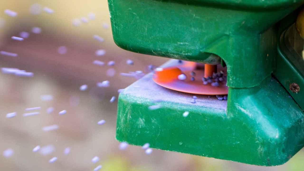 Forklift Seed Spreader